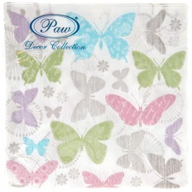 Serwetka papierowa Motyle Paw SDL086800