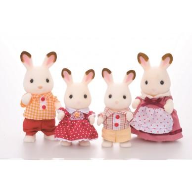 Rodzina królików z Czekoladowymi Uszami 3125 Sylvanian Families