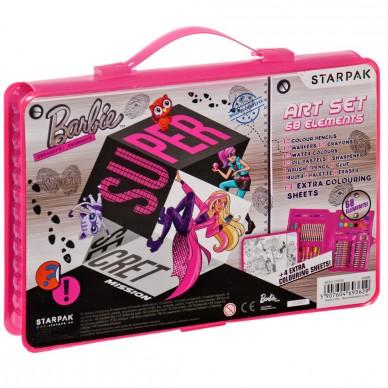 Zestaw artystyczny 68 el Barbie Tajne agentki
