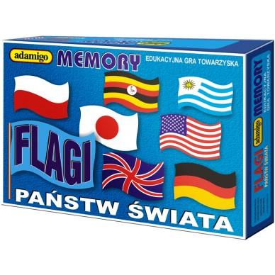 Gra Memory Flagi Adamigo 0356