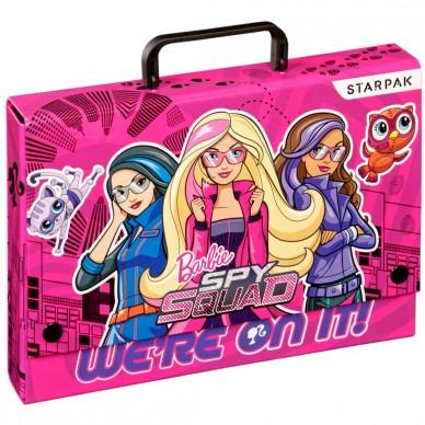 Teczka z rączką Barbie Tajne Agentki Starpak