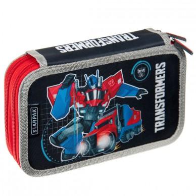 Piórnik z wyposażeniem Transformers Starpak