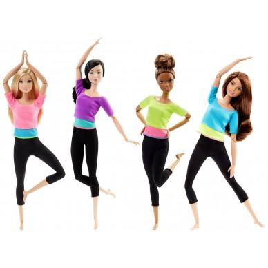 Lalka Gimnastyczka Barbie Make to Move DHL81