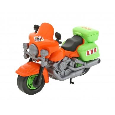 Motor plastikowy z ruchomymi kołami Wader 8947
