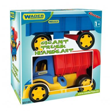 Wywrotka z przyczepą Gigant Truck Wader 65100