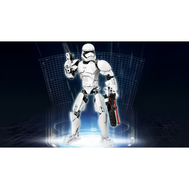 Klocki Lego Star Wars Szturmowiec Najwyższego Porządku 75114