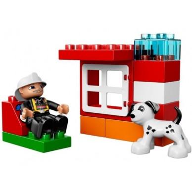 Klocki Lego Duplo Łódź strażacka 10591