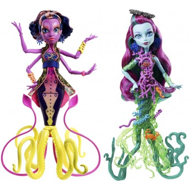 Upiorki z głębin Monster High DHB50 Mattel