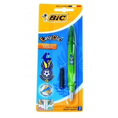 Pióro wieczne BIC Easy Clic Football