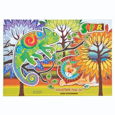 Blok rysunkowy A4 20 kartek Safari A4 SAFARI Starpak