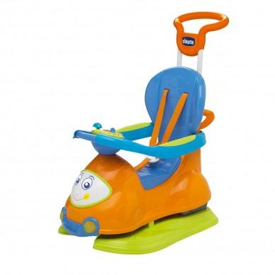Jeździdełko 4w1 Quattro Chicco pomarańczowe
