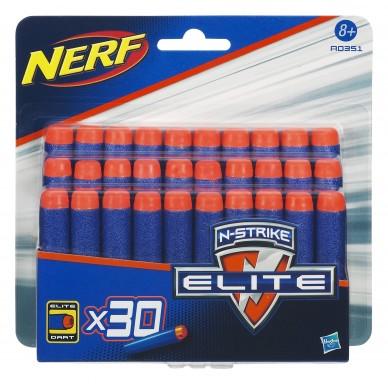 Zestaw 30 strzałek Nerf Elite N-strike A0351