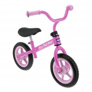 Rower biegowy Różowa strzała Chicco