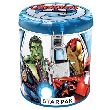 Skarbonka metalowa Avengers AVG 12KOL Starpak