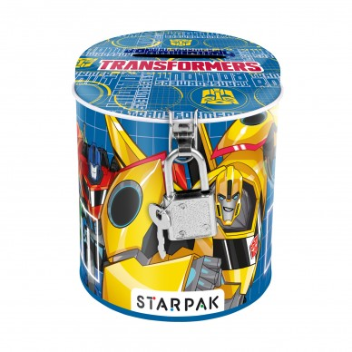 Skarbonka metalowa Transformers Starpak