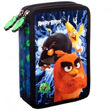 Piórnik z wyposażeniem Angry Birds Derform PWDAB13