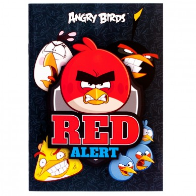 Album na naklejki Angry Birds Derform ADNAB