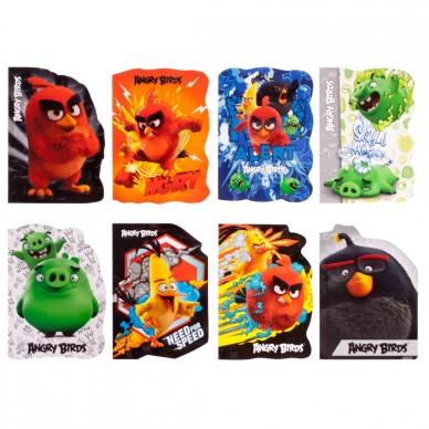 Notes A6 Angry Birds Derform 30 kartek NKA6AB