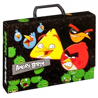 Teczka z rączką Angry Birds Derform TTRAB