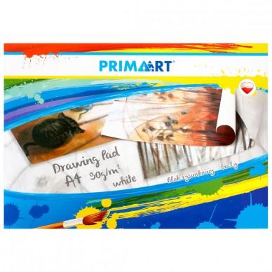 Blok rysunkowy biały A4 20 kartek Prima Art