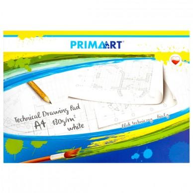 Blok techniczny biały A4 10 kartek Prima Art