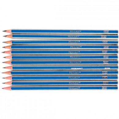 Zestaw artystycznych ołówków 2H-8B Prima Art 12 szt