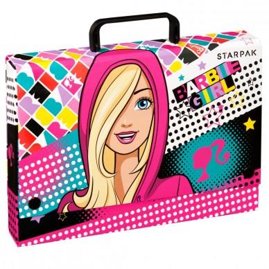 Teczka z rączką Barbie Starpak