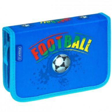 Piórnik z wyposażeniem Football Starpak