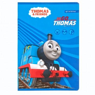 Zeszyt w kratkę 16 kartek Tomek i Przyjaciele Starpak