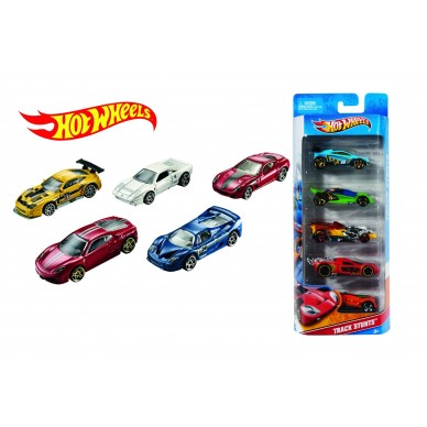 Pięciopak aut Hot Wheels 1806 Mattel