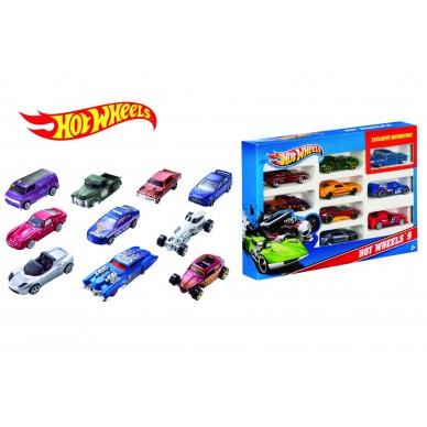 Dziesięciopak Hot Wheels 54886 Mattel