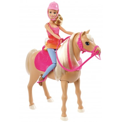 Barbie i tańczący koń DMC30 Mattel