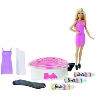 Zakręcone wzory zestaw z lalką Barbie DMC10