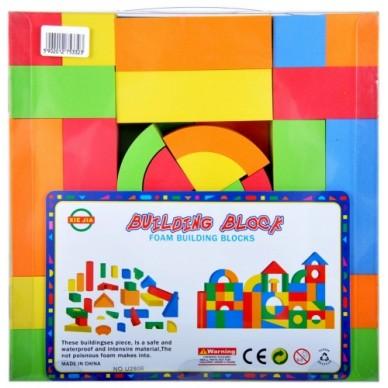 Kolorowe klocki piankowe 66 el. U2806 Mega Creative