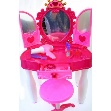 Różowa toaletka dla dziewczynki 661-21 Mega Creative