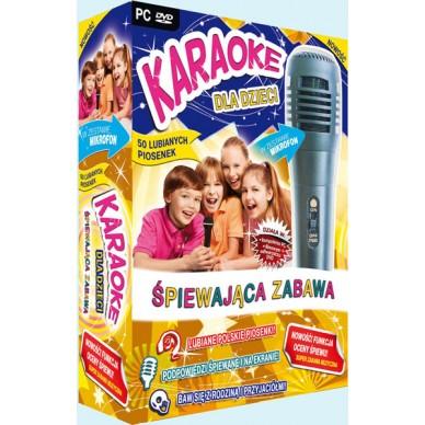 -ZEST KARAOKE PC/DVD+MIKR SPIEWAJACA ZABAWA