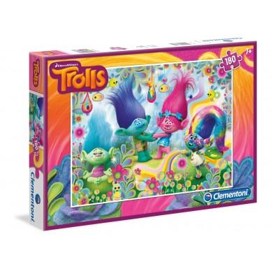 Puzzle Trolls 180 el Clementoni 07335