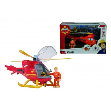 Helikopter Strażak Sam WALLABY Simba