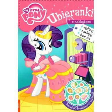 Książeczka ubieranki z naklejkami My little Pony SDU-201 Ameet