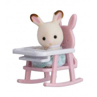 Królik na krzesełku dziecięcym 5197 Sylvanian Families (357612)