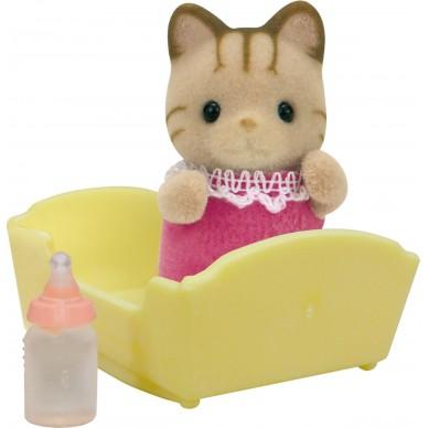 Figurka z akcesoriami dziecko pręgowatych kotów 5186 Sylvanian Families