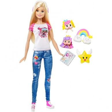 Lalka Barbie z filmu Barbie w świecie gier DTW09