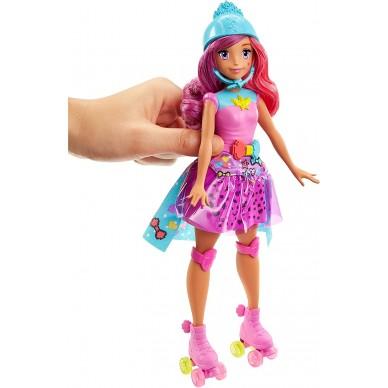 Barbie księżniczka z grą pamięciową DTW00