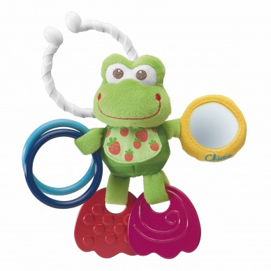 Zabawka do wózka Sprytna Żabka 363721 Chicco