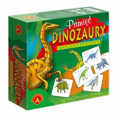 Gra Pamięć Dinozaury 05332 Alexander
