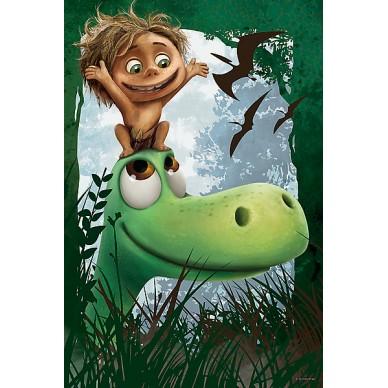 Puzzle Dobry Dinozaur- Jak dobrze mieć przyjaciela 17278 Trefl