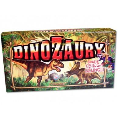 Gra Dinozaury + Księga Dżungli 324334 Gabi