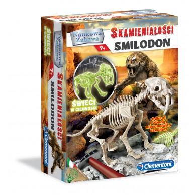 Zestaw Kreatywny Skamieniałości Smilodon 60891 Clementoni 343541