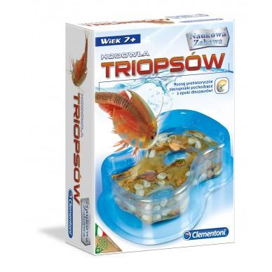 Zestaw Kreatywny Akwarium dla małych Triopsów 60055 Clementoni