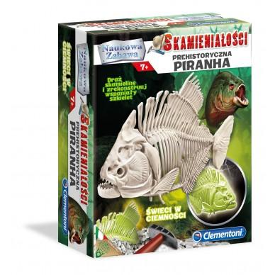 Zestaw Kreatywny Skamieniałości Pirania 60056 Clementoni